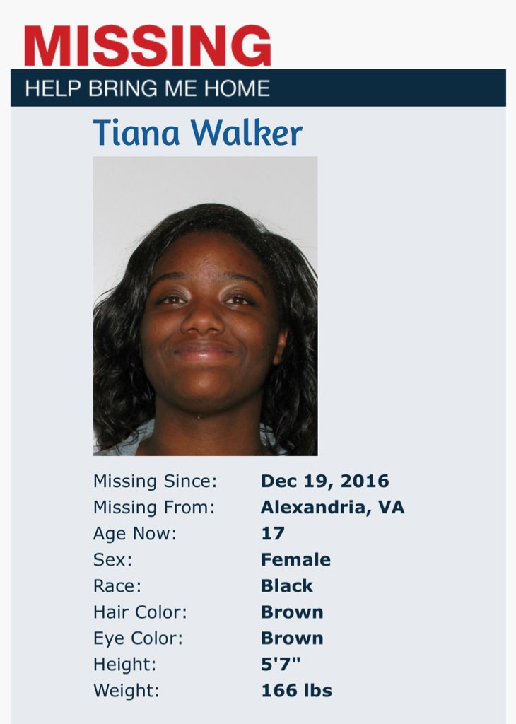 #SundayMorning Have you seen this child? TIANA WALKER https://t.co/JIb...