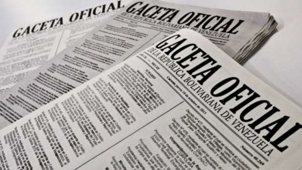 La GMATVV mediante GacetaOficial Nº 41.023 se reformuló implementado u...