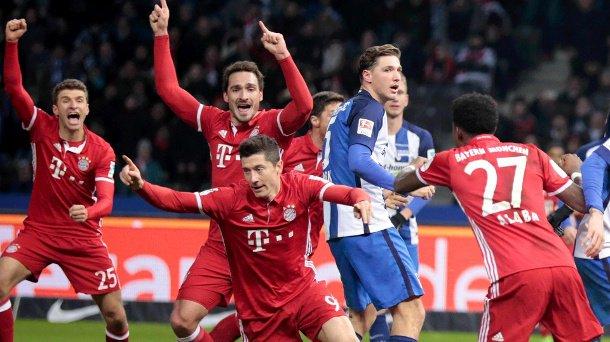 #fcbayern #miasanmia Bundesliga: Last-Minute-Treffer rettet Bayern in...