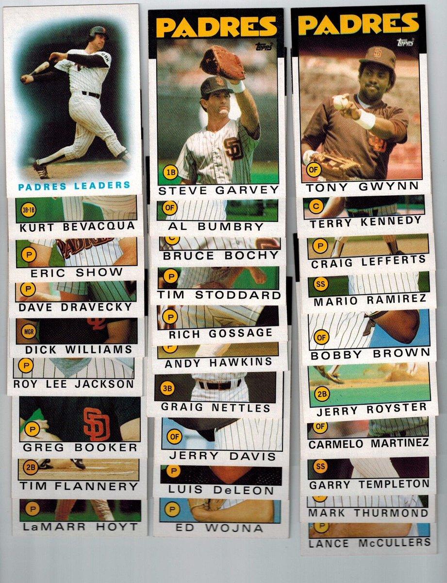 #MLB #Cards 1986 #Topps Baseball San Diego #Padres complete team set - Gwynn, Garvey  http:// dlvr.it/NQLR3l  &nbsp;   #Baseball #Card<br>http://pic.twitter.com/KtGW25z6RP