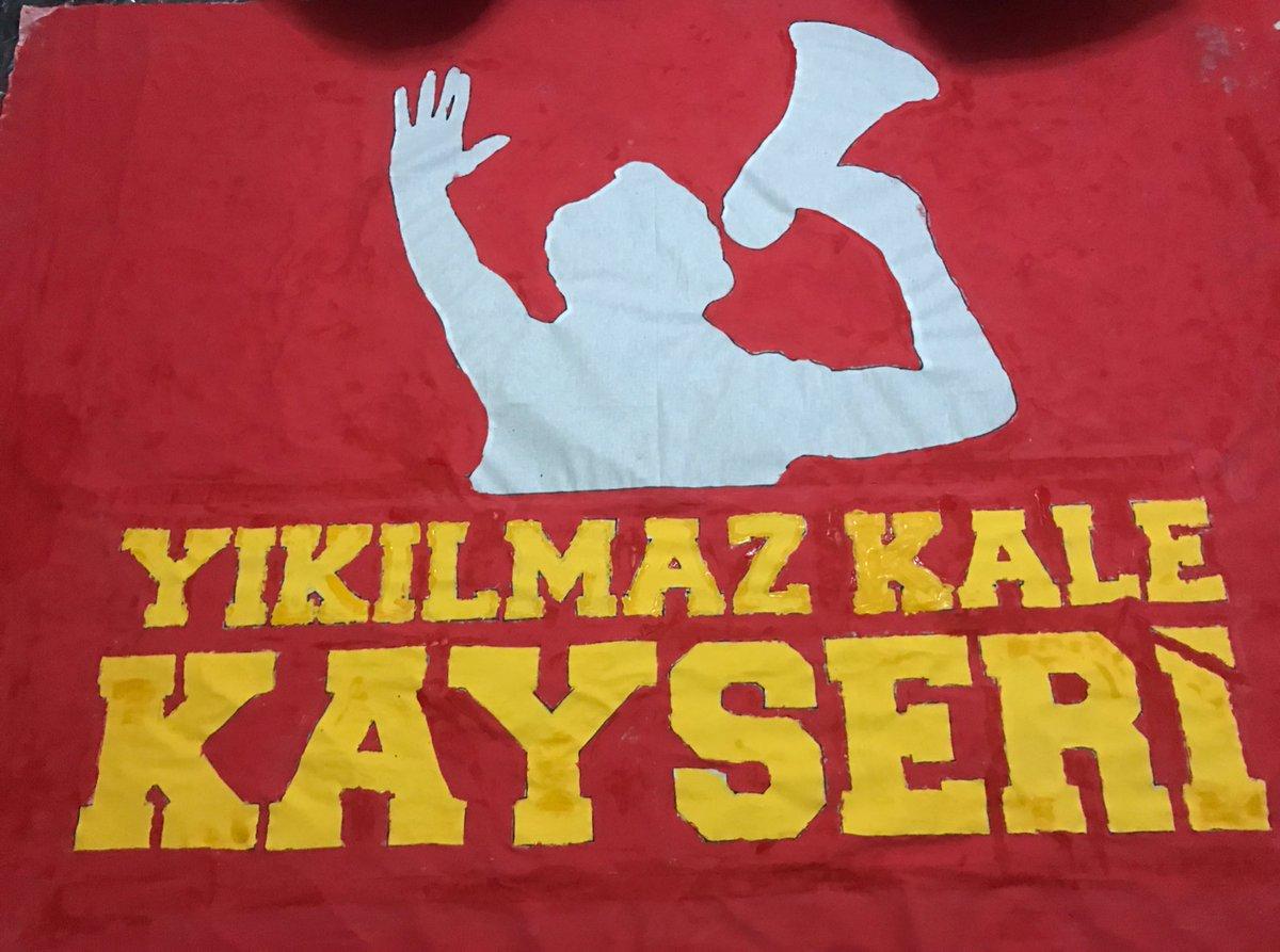 Ultraslan Kayseri در توییتر 2 Gun Once Pankart Boyama Da Dun