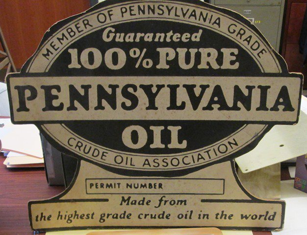 Paraffin in Appalachian crude oil made great motor oil.  PGCOA formed 1924 ensuring high quality.  #DayofFacts #OilHistory @DrakeWellMuseum https://t.co/xzyw4u7DVs