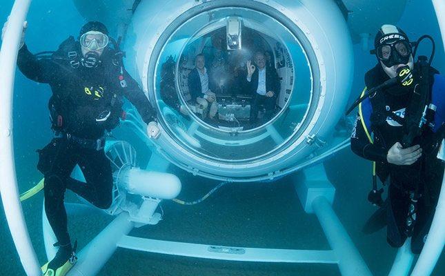 A #Antalya les touristes pourront vivre une expérience incroyable dans un sous-marin équipé de 22 fenêtres d&#39;exploration. #Turquie <br>http://pic.twitter.com/rAFT0xZMqz