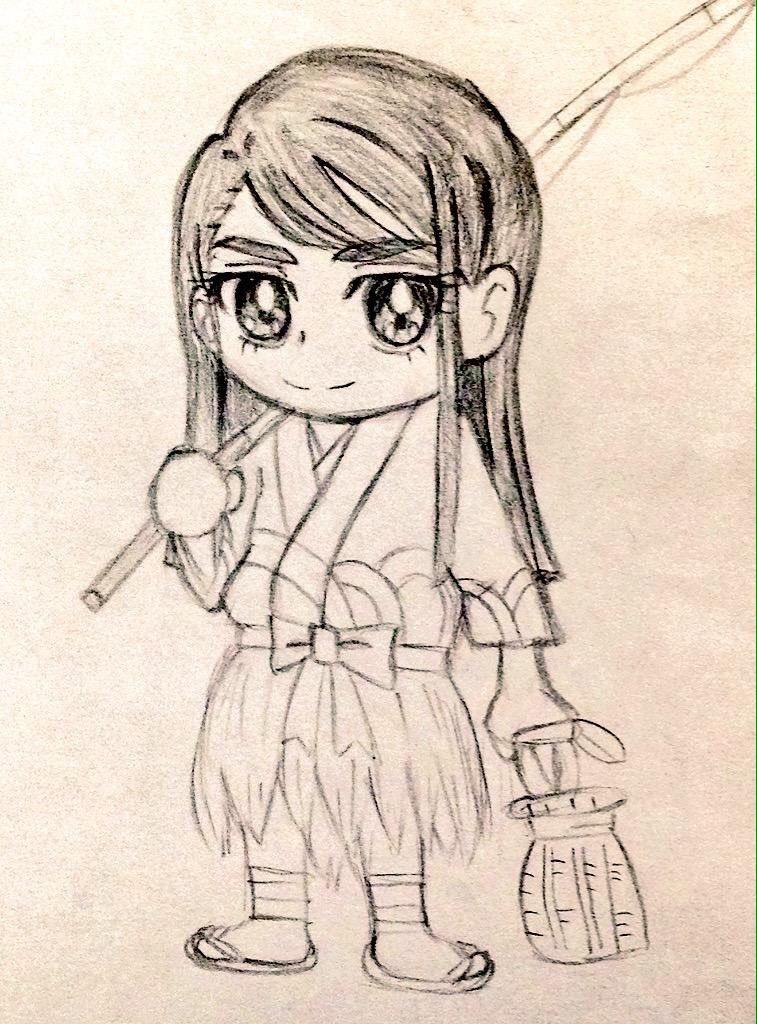 しげる (@ha_chandesuja)さんのイラスト
