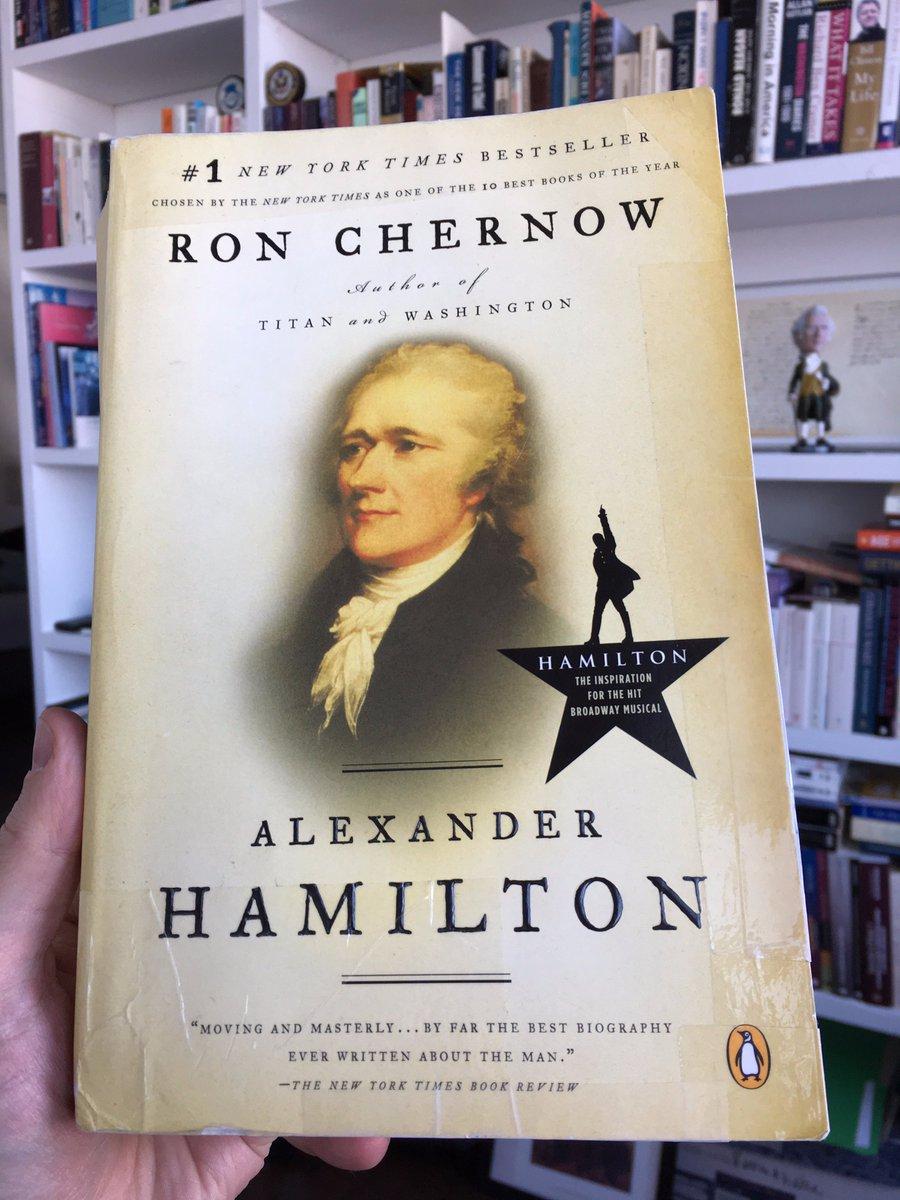 #LectureDominicale #SundayReadings  Véritable chef-d&#39;oeuvre littéraire, tout à fait à la mesure du géant qu&#39;est Alexander Hamilton. #polusa <br>http://pic.twitter.com/FxeJDtt6c8
