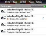 Just copped Jordan Retro 1 High OG - Men's with @thenikebandit #BanditAIO bot