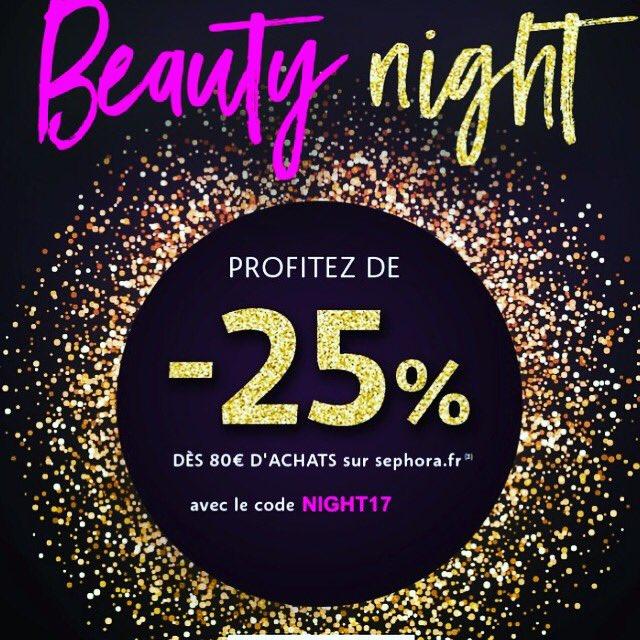 Exclu web du soir by @Sephora , bonsoir ! 25% cela ne se refuse pas, alors craquage ou pas? #beautyblogger #sephora #excluweb #amandebeauty<br>http://pic.twitter.com/VzN5M3kqq3