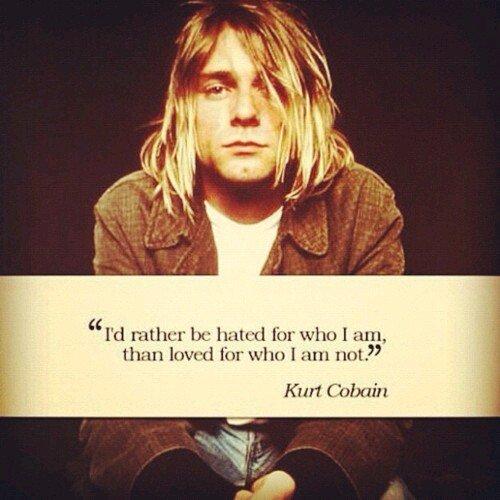 Happy birthday Kurt Cobain. Truly legend