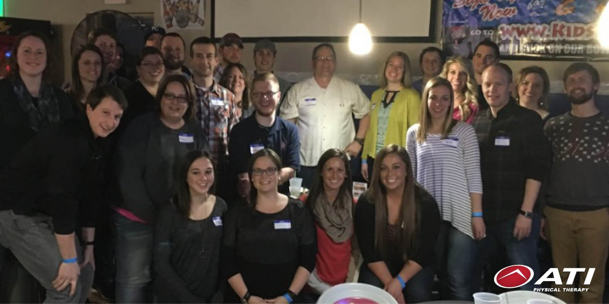 All of our Nebraska clinics got together for a team building night of...