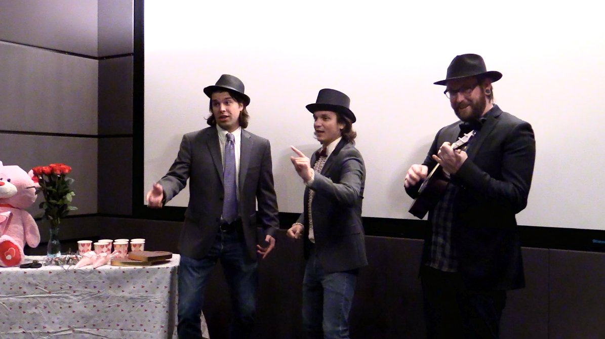 Get ready to be serenaded by the boys of Mythical Entertainment. #Good...
