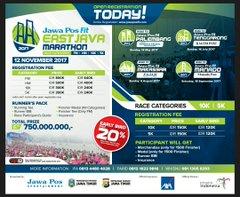 Jawa Pos Fit East Java Marathon • 2017