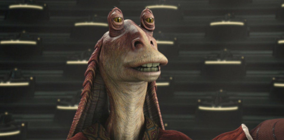 The Star Wars canon has officially revealed the sad fate of Jar Jar Binks