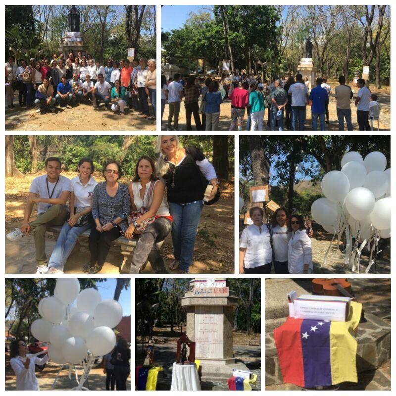 #19Feb|| @VenteCarabobo presente en el #RosarioPorLaLibertad frente a...