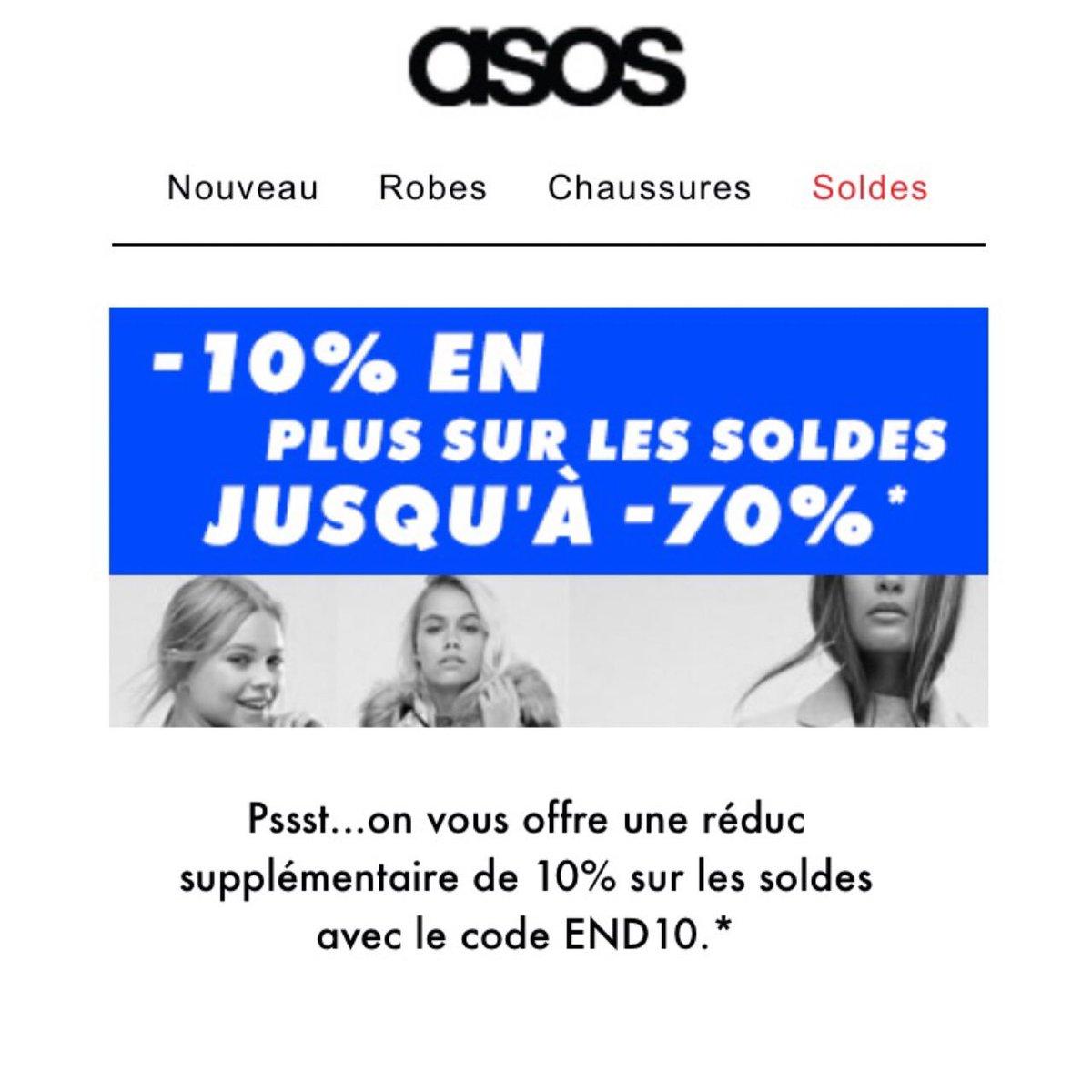 -10% supplémentaires sur les soldes sur #asos  code END10  #bonplan #lepleindeconomies  #teamlpe #codepromo  http://www. lepleindeconomies.fr  &nbsp;  <br>http://pic.twitter.com/TRFVVdHSsz