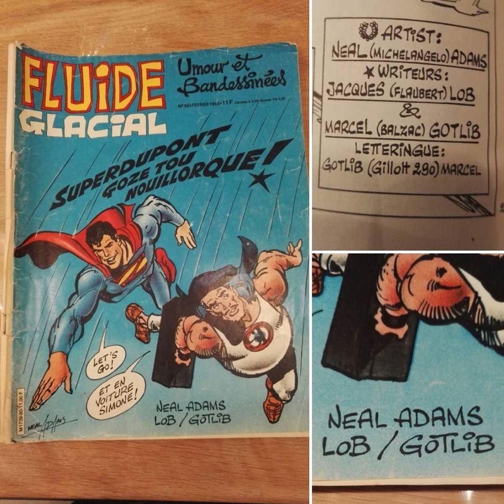 Un peu de vintage pour un #loot d&#39;enfer !  #nealadams #gotlib #superman<br>http://pic.twitter.com/aWhZonEog6