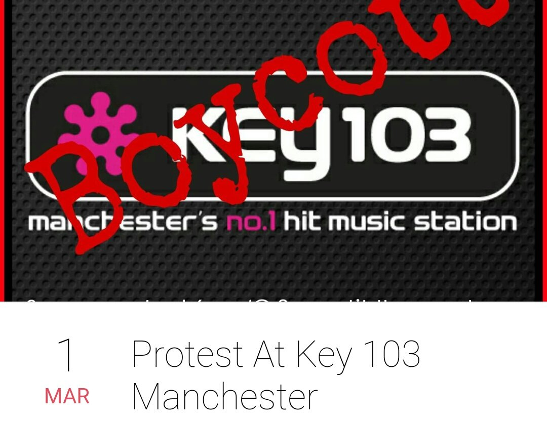 #AnimalRights #Manchester  #Protest #1Mar #Important   @KEY103 a local radio promoting #GreyhoundRacing   https:// m.facebook.com/events/2152177 32281057/ &nbsp; … <br>http://pic.twitter.com/7mPFxCls6C