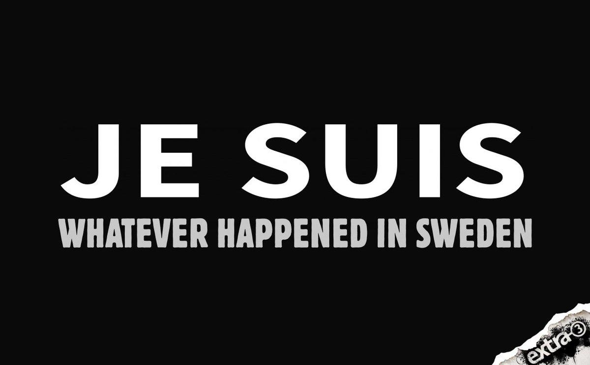 Für alle Fälle. #lastnightinsweden https://t.co/zNppYVW5nN