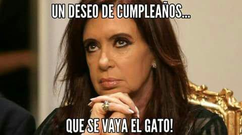 Feliz cumpleaños CFK (64), dejale tu saludo de Amor acá