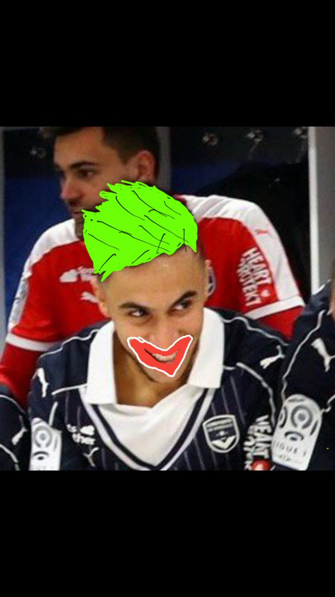 &quot;why are you so serious&quot; #girondins #joker #FCGBEAG <br>http://pic.twitter.com/b36fshCiiL
