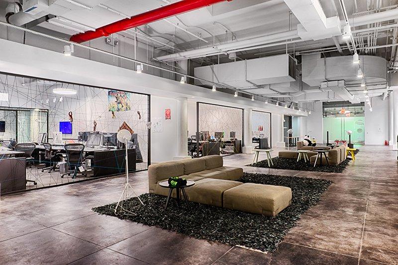 Visite des #superbes bureaux de @Spotify - #NewYork , #NY Design: FOX Architects, #officedesign #workplace  http:// espaceoffice.net/2017/01/visite -la-startup-spotify-new-york-ny.html &nbsp; … <br>http://pic.twitter.com/rmW658fvDb