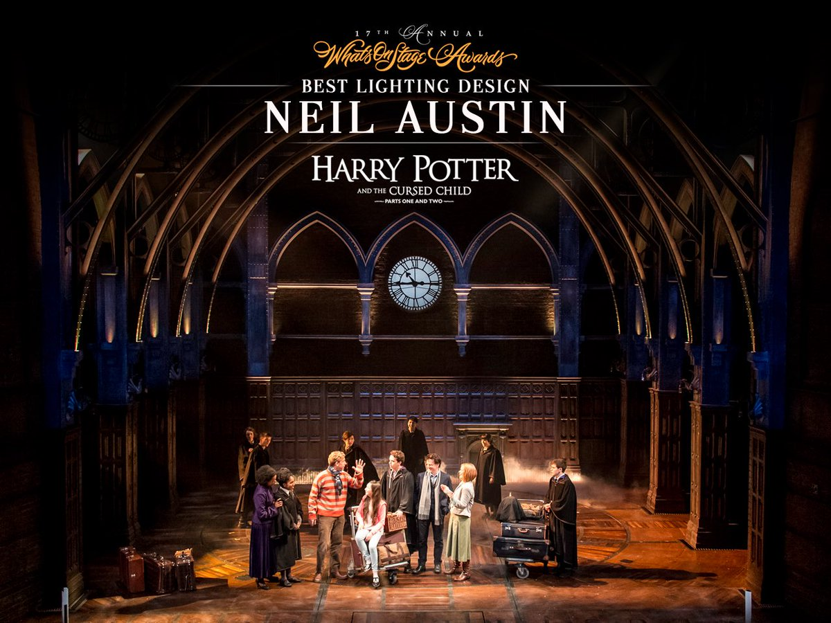 Cursed Child Play On Twitter Neil Austin Cursedchild S Lighting Designer Has Won Best Design At The Wosawards