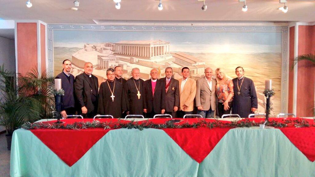 Hoy Participó en la Celebración de los 25 años de la Iglesia Ortodoxa...