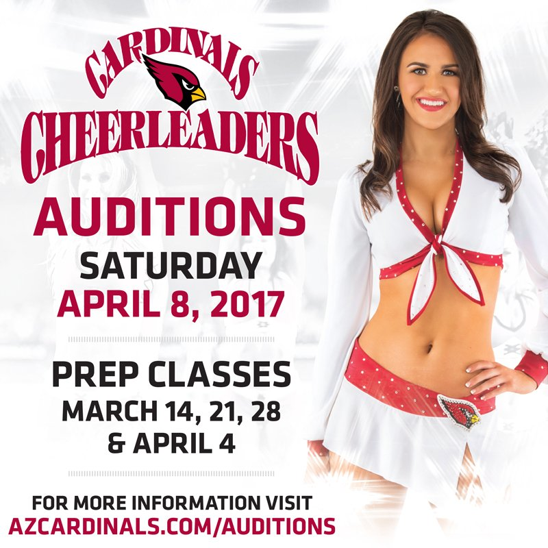 Think you have what it takes to be a part of @AZCardsCheer?   Learn mo...
