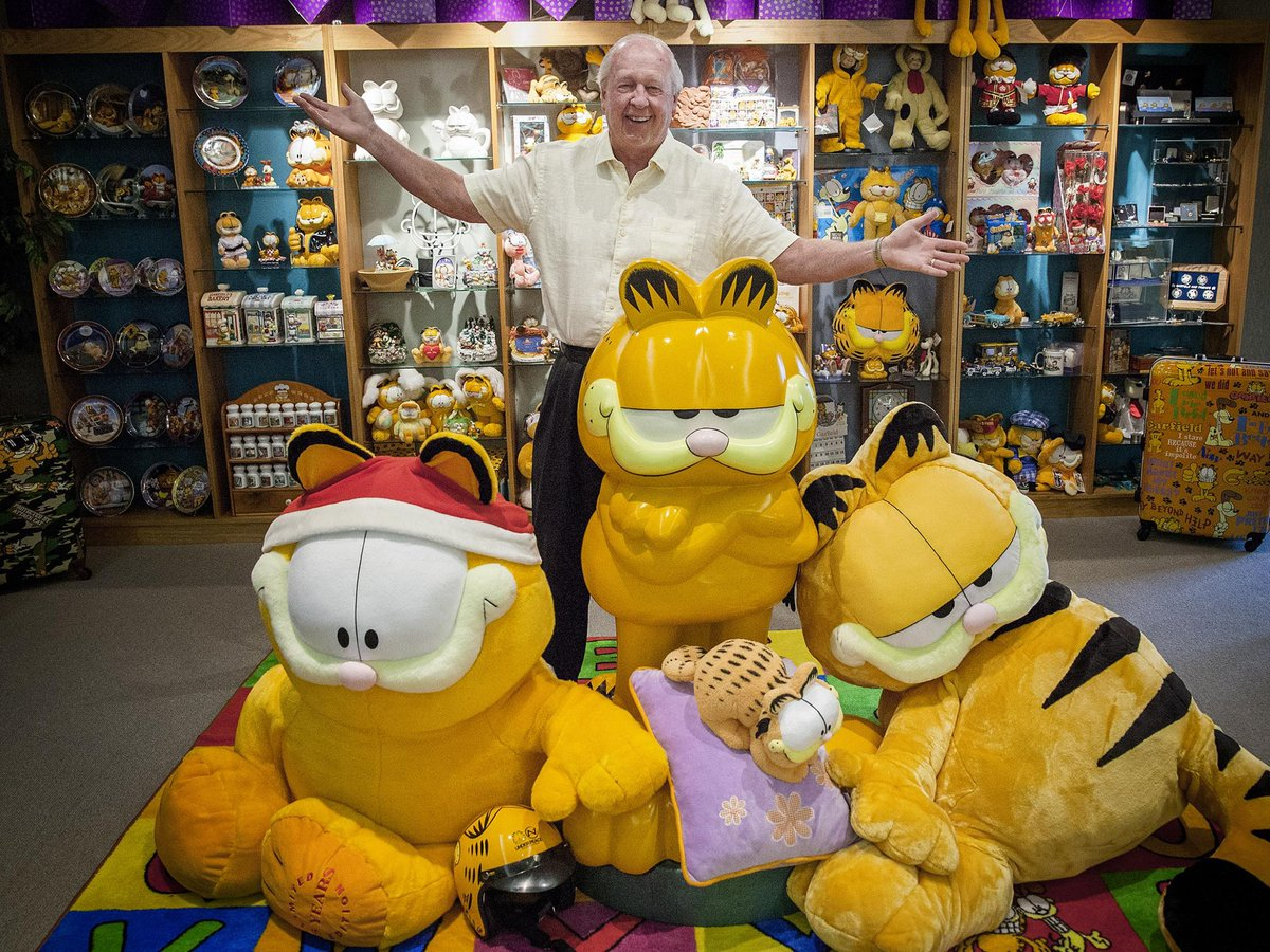 Celebrity cats team up: @Garfield and Grumpy Cat to appear in a comic book together