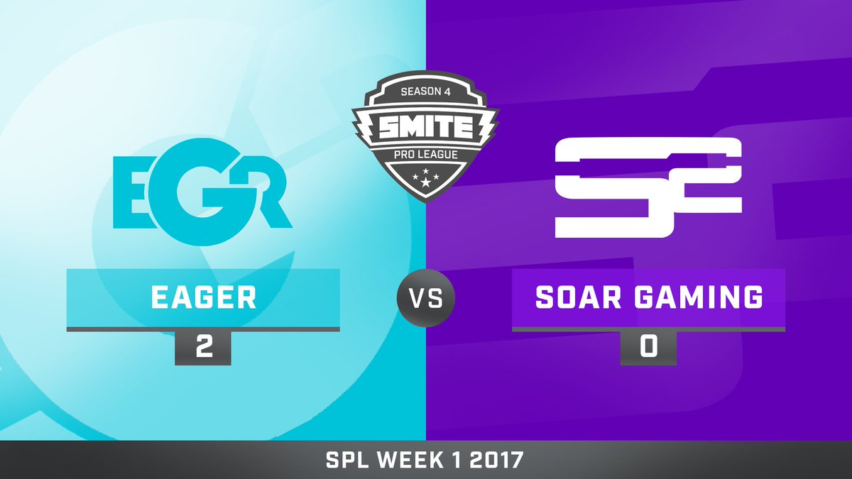 Team Eager vs SoaR Gaming