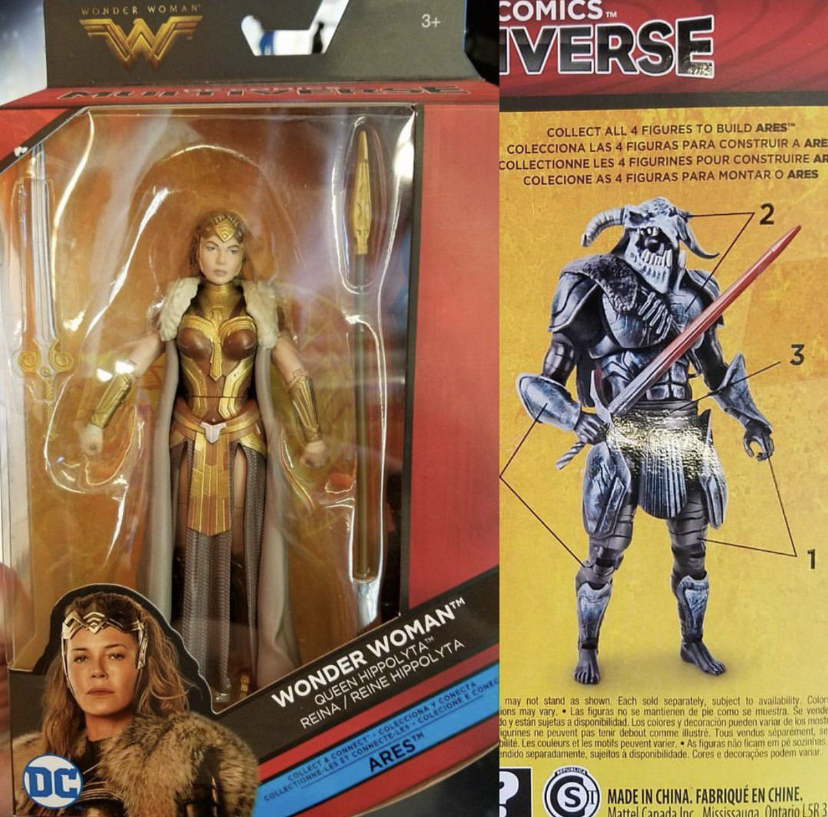 variant on twitter our first look at ares from the wonderwoman