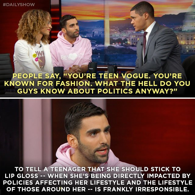 Teen Vogue's Phillip Picardi makes the case for the magazine's politic...