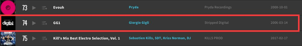 Almost 11yrs on and #74 @beatport Top 100 #ProgressiveHouse Releases. Giorgio Gigli - GG1 EP  https://www. beatport.com/release/gg1/18 257 &nbsp; …  #techno<br>http://pic.twitter.com/iTDNjBovqi
