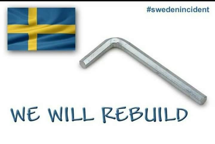 RT @mickD5966: I stand with Sweden <br>http://pic.twitter.com/HMiTCjhGzo #auspol #uspoli #uspolitics #trump #lastnightinsweden