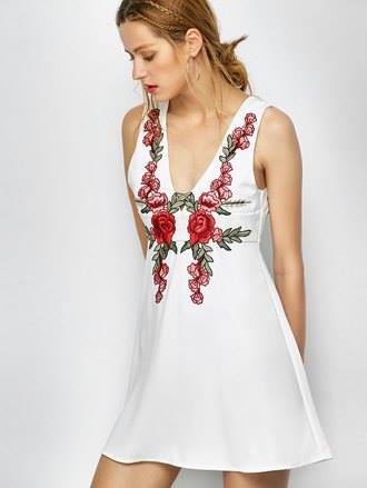 Dress: floral