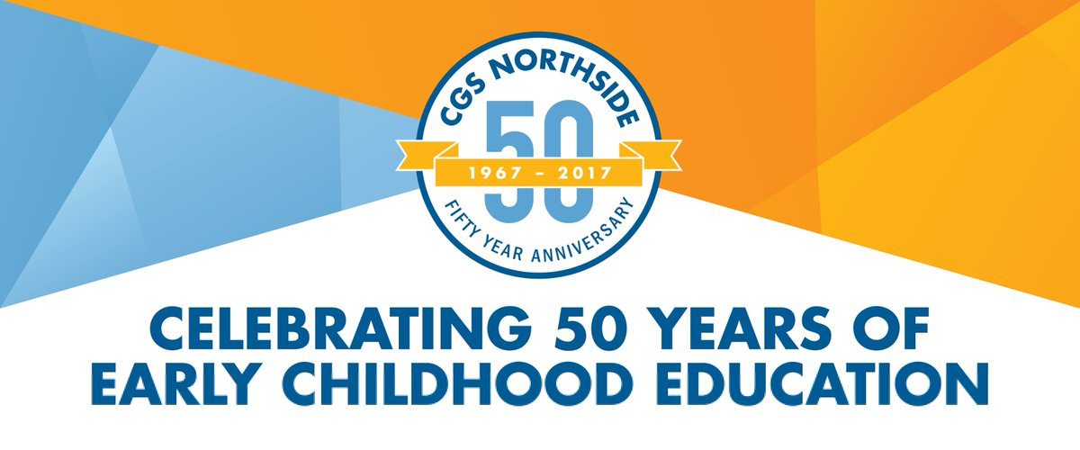 Did you know CGS Northside turns 50 this year? We have some great events planned, so keep tuned...