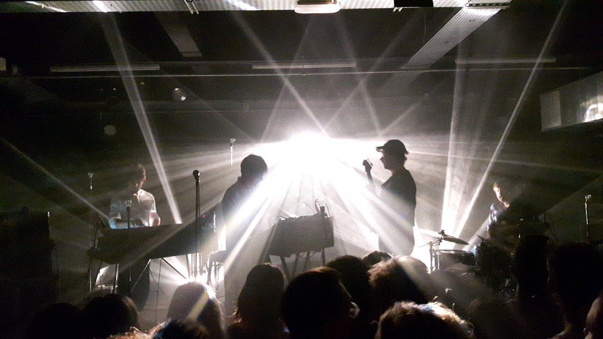 Good vibes avec @paradisfm ce soir pour la clôture du @generiqfestival  #live #music #dijon #generiq #pop #electro #cotedor<br>http://pic.twitter.com/HJJXk3z4Oc