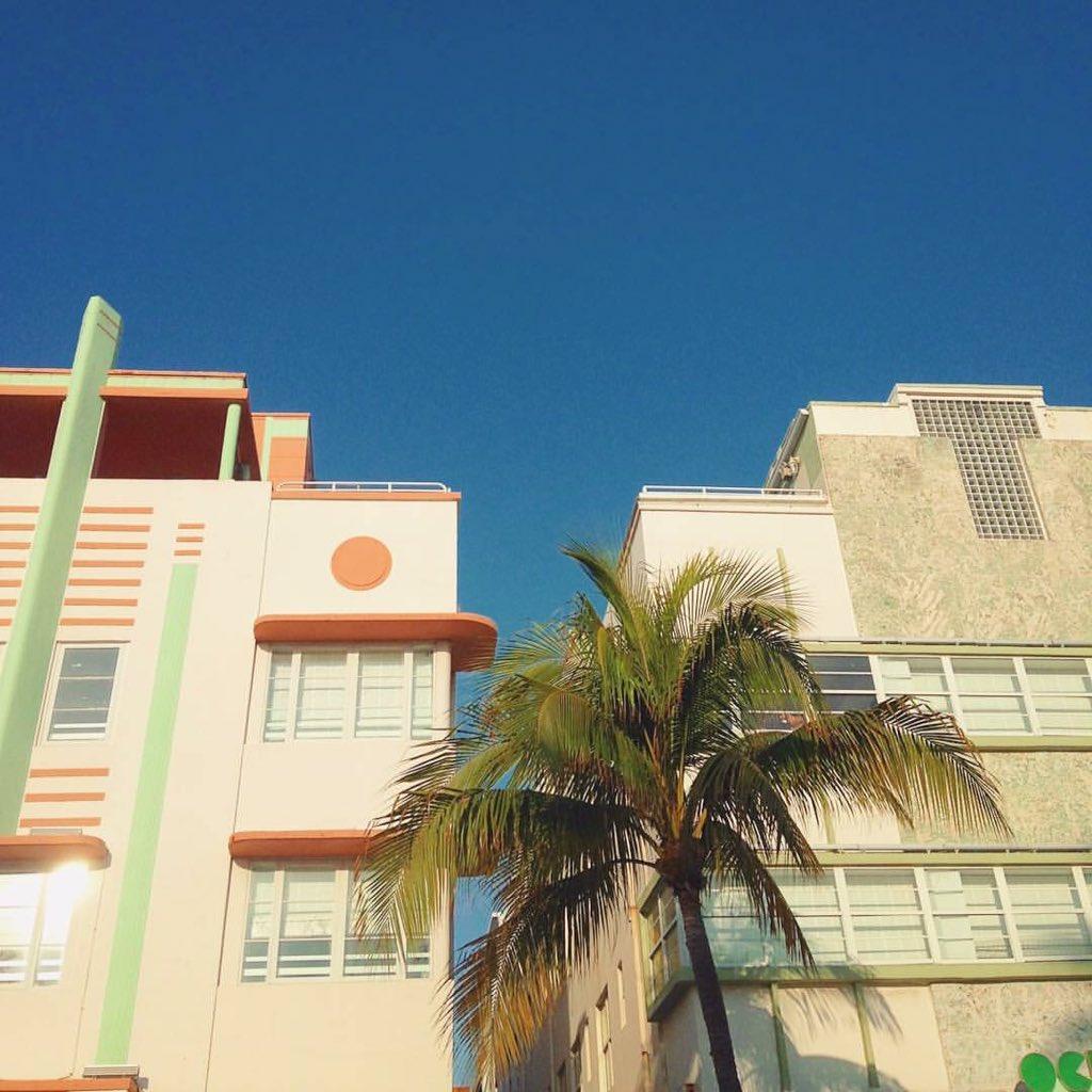 Art Déco #Miami #Floride  <br>http://pic.twitter.com/aMqQ1k24MX