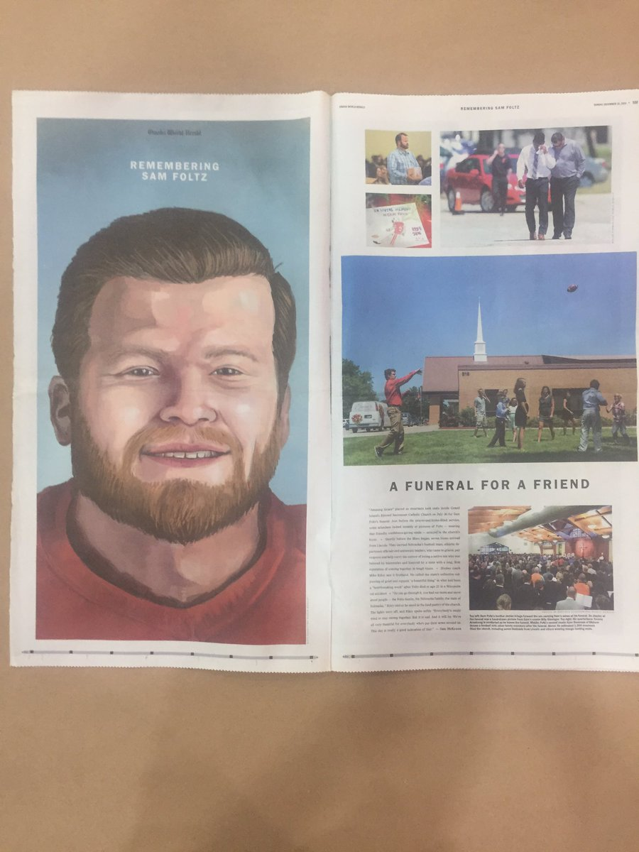 The @OWHnews has been awarded a gold medal for sports cover story and spread. #snd38 #snd38medal https://t.co/D02976dqJv