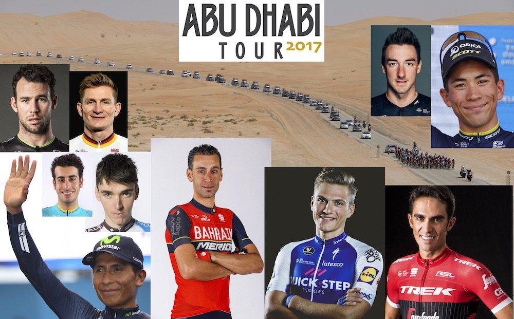 Тур Абу-Даби 2017 - ТОП-10 фаворитов на генерал