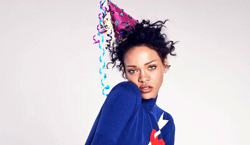 February 20 means... #HappyBirthdayRihanna 😍🎈🎉 https://t.co/7VEkctVkg2