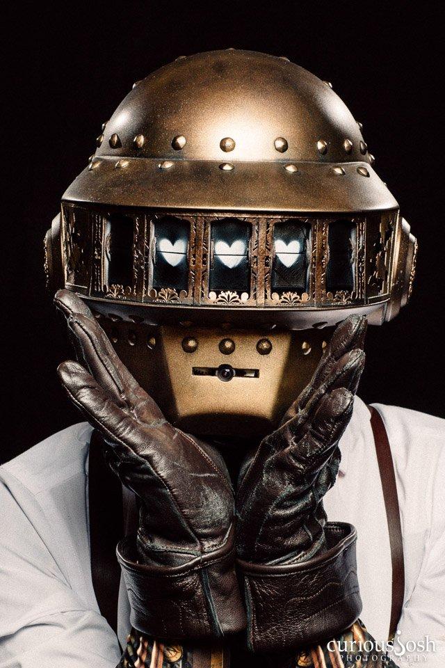 Daft Steampunk by Steven Dwyer Photos by Curious Josh   #SciFi #Steampunk