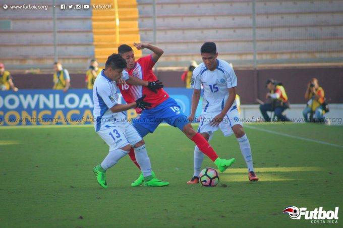 Campeonato CONCACAF 2017: El Salvador 1 Costa Rica 0. C5EYL37WIAEWf5U