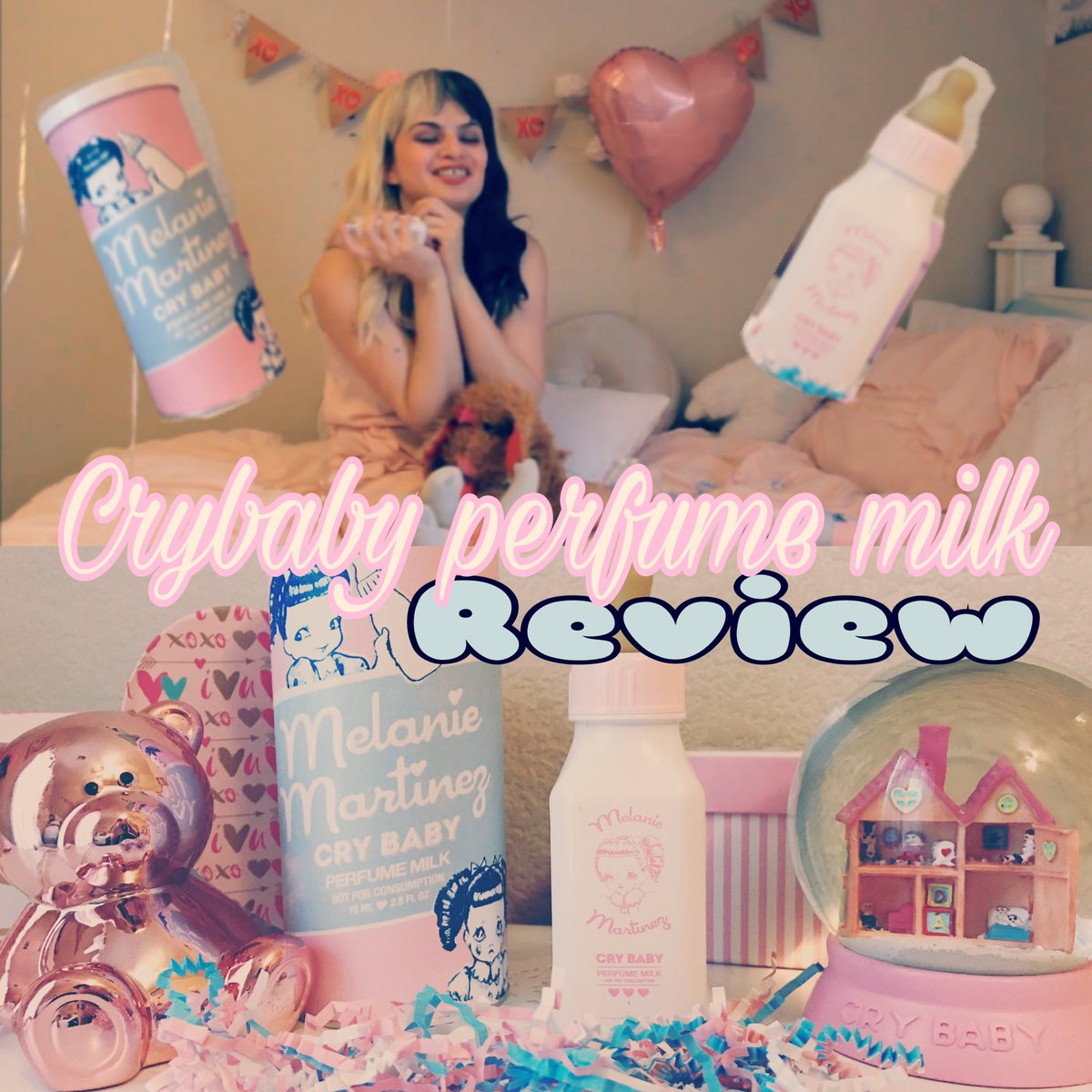Melanie Martinez cry baby perfume milk review. Now up! #crybabyperfumemilk  #pastel  #crybaby #review   youtube  https:// youtu.be/a__cj7Zx8q0  &nbsp;  <br>http://pic.twitter.com/4otnnk6AAy