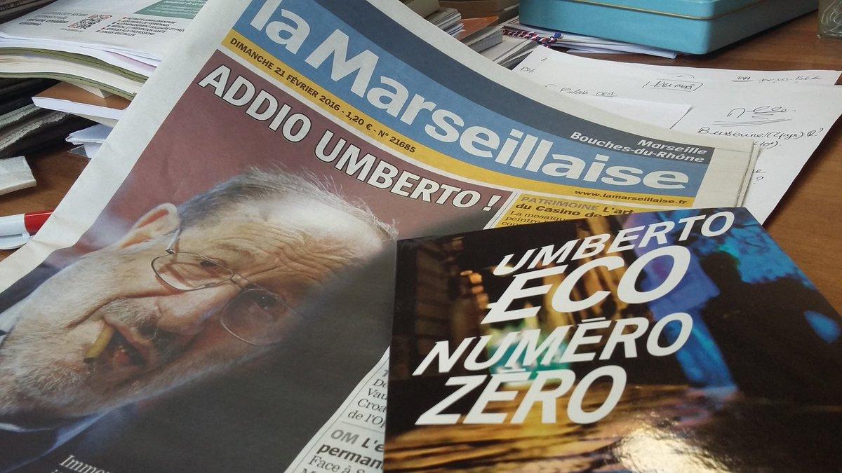 Il y a un an disparaissait #umbertoeco .   #Italy #eco @lamarsweb @lanavediteseoed<br>http://pic.twitter.com/wRn6GvviiZ