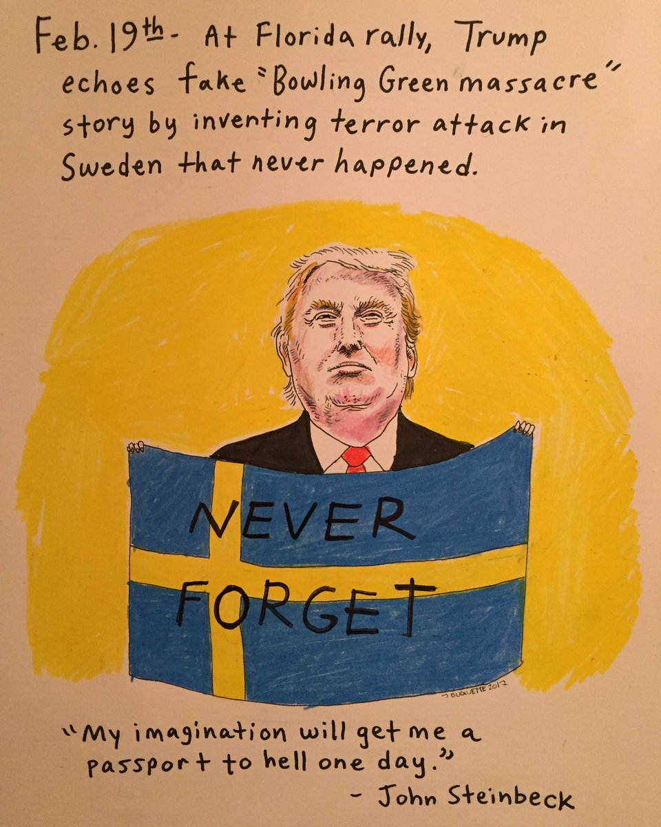 Day 30: A day that will live in infamy-ish. #thedailydon #resist #thisisnotnormal #notmypresident<br>http://pic.twitter.com/AOATaoyhOh