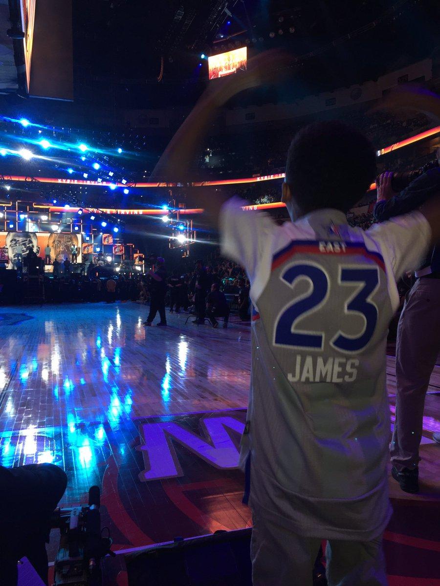 So ready!!!!! @NBAAllStar LETS GOOOOOOOOOOOO! #NBAALLSTAR #MILESBROWN...