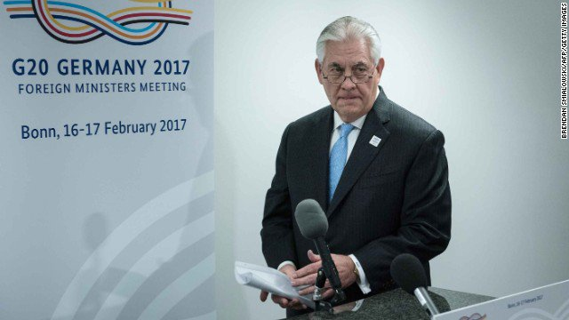 Rex Tillerson presides over the abrupt shakeup at the State Department...