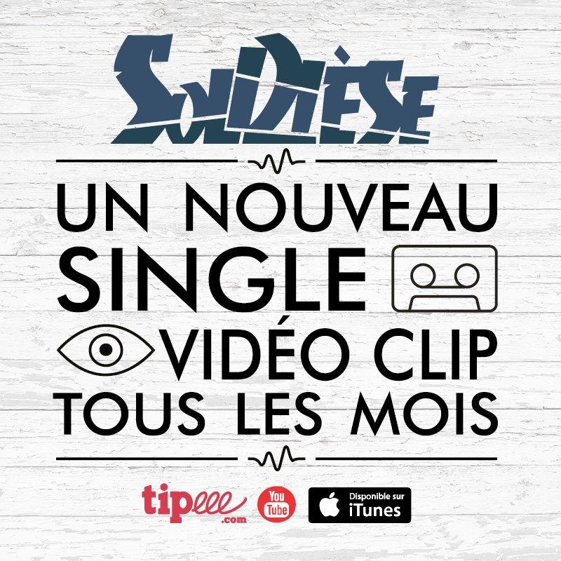 Soldièse c&#39;est 1 nouveau single/Vidéo clip tous les mois sur Youtube ! Abonne-toi #youtube #youtubeur #musique #clip  http:// ow.ly/t8Ho3099gIL  &nbsp;  <br>http://pic.twitter.com/aDmgO2LJIP