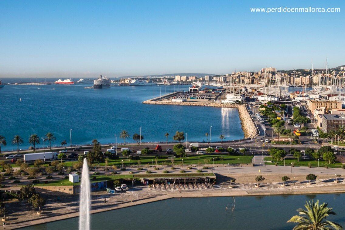 Espléndido día que hoy nos regala #Palma espero que sea bueno y productivo para todos  <br>http://pic.twitter.com/igIos0dYBO