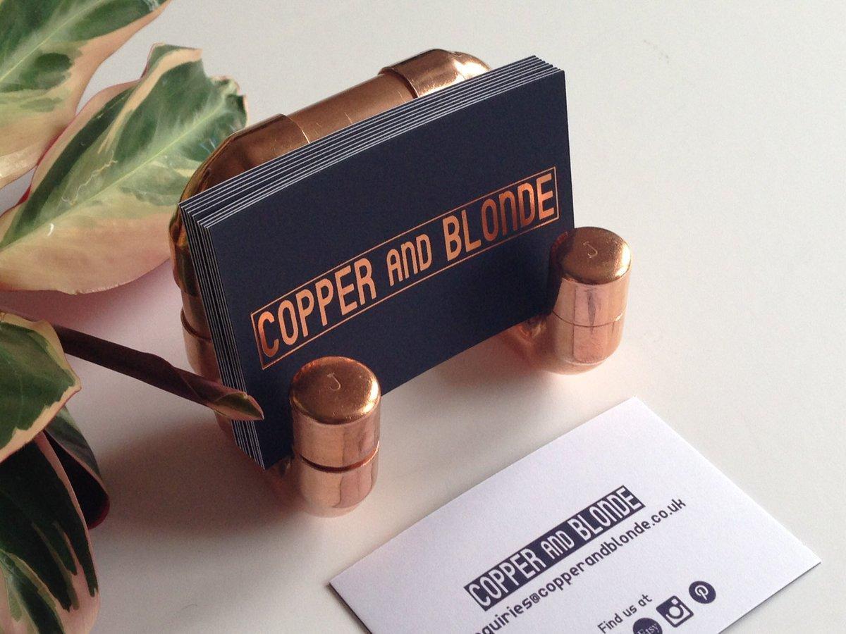 Be bold, be proud  https://www. etsy.com/uk/listing/269 639338/business-card-holder-copper-industrial &nbsp; …  #earlybiz #87RT #flockbn<br>http://pic.twitter.com/zrMrXDj2fM